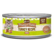 Merrick Purrfect Bistro Grain Free Turkey Pate Size: 5.5 oz - 24 pk