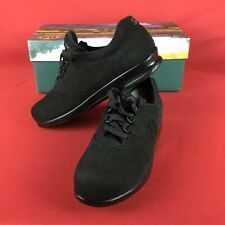 New SAS Free Time Charcoal Black Suede Size 6M Women's Shoes