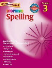 Spectrum Spelling ( Grade 3 ) 9780769652634