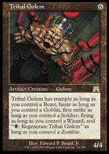 MTG Magic - (R) Onslaught - Tribal Golem FOIL - SP