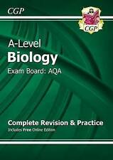 New A-Level Biology: AQA Year 1 & 2 Complete Revision & Practice with Online Ed…