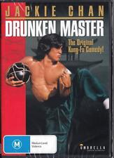DRUNKEN MASTER - JACKIE CHAN - NEW & SEALED REGION 4 DVD FREE LOCAL POST