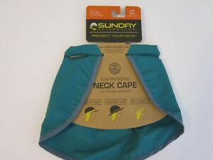 Sunday Afternoons Solar Curtain Sun Protective Neck Cape, O/S, Evergreen, New