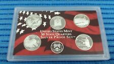 2008 S United States Mint 50 States Quarters Silver Proof Coin Set