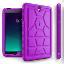 Poetic Samsung Galaxy Tab S3 9.7 Case [TurtleSkin] Shockproof TPU Cover Purple
