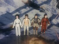 Vintage Star Wars Princess Leia Organa Hoth Bespin Boushh Lot