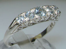 Aquamarine Band Unbranded Fine Gemstone Rings