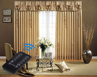 """2 - 7 Meters (276"""") Remote Control Electric Curtain Tracks. Free & Fast Delivery"""
