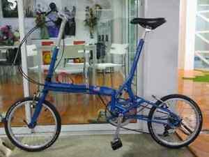 Bike Friday Tikit Hyper Folding 50 cm. Folding Bike - Blue color