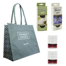 YANKEE CANDLE Plug In Refills & TOTE BAG Vanilla Lime Midnight Jasmine & 2 PLUGS
