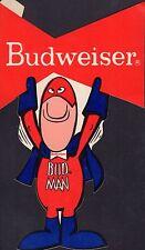 "Budweiser Bud Man 9"" Sticker 052416DBE"