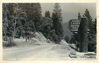 California Feather River Highway Eastman #B-995 Lassen NP Photo Postcard 21-1261