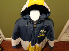 Notre Dame Fighting Irish Logo Athletic PUFFY VINTAGE HOODIE JACKET SZ ADULT XL