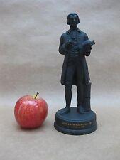 Vintage Wedgwood Black Jasperware Figure of Josiah Wedgwood FRS ~ Ltd. Ed. 1972