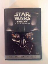 Star Wars Trilogy Bonus Material (DVD, 2006, Widescreen, THX) Authentic US