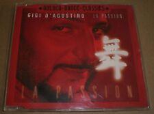 La Passion Gigi D'Agostino~1999 German Import Euro House Italodance CD Single