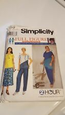 Simplicity Full Figure #8648, Size 18W-24W - Top, Pants and Skirt, Uncut