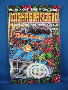 MICHAELANGELO 1 TMNT NM- 1985 MICROSERIES