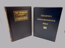 Chain-Reference Bible Companion & Thompson Chain-Reference Bible, Lot of 2 Books
