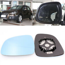For Suzuki SX4 Side View Door Wide-angle Rearview Mirror Blue Glass Heated