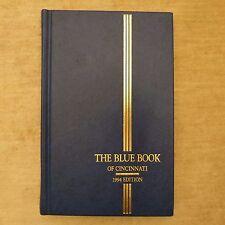 Blue Book of Cincinnati 1994 edition college clubs Debutantes