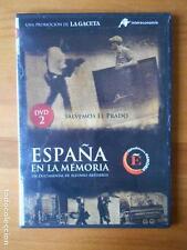 DVD ESPAÑA EN LA MEMORIA 2 - SALVEMOS EL PRADO - CAJA SLIM (Z5)