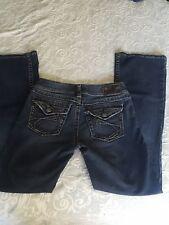 Women's Silver Suki boot cut blue jeans tag size  W28/L32