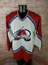 CCM NHL Hockey Jersey Colorado Avalanche Men's Large Embroidered Patch
