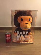 "NEW JAPAN A Bathing Ape Baby Milo Store 18"" Large Plush Doll"