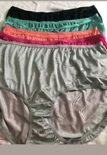 Comfort Choice nylon briefs, lot of 11,  44-46 5x,6x plus mixed colors