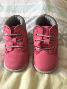Timberland Baby Girl Boots Size 2.5 Excellent Condition