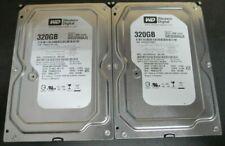 """Lot of 4 320GB 3.5"""" Desktop HD HDD / BUNDLE / WARRANTY / USED"""
