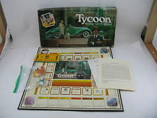 Tycoon-The Rags to Riches Board Game Classic Boardgame Wattson Games