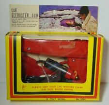 New In Box NOS Old Vintage 1960s 1970s CAR DEFROSTER GUN IN ORIGINAL BOX PACKAGE