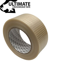 More details for 50/75mm x 50m ultimate cross weave fibreglass reinforced filament packing tape