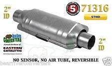 "71316 Eastern Universal Catalytic Converter Standard Catalyst 2"" Pipe 12"" Body"