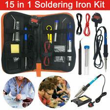 14 in 1 60w Soldering Iron Kit Electronics Welding Solder Tools Adjustable Temp