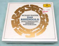 Das Rheingold Ring Wagner Opera Karajan CDs Deutsche Grammophon New, Sealed