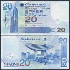 HONG KONG 20 Dollars 2006 UNC P 335 c