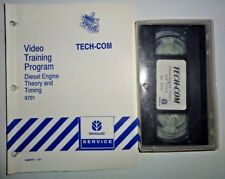 New Holland Tractor Diesel Engine Theory & Timing Training Program Manual &Video