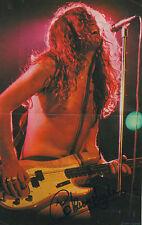 "Glenn Hughes ""Deep Purple"" Autogramm signed A4 Magazinbild"