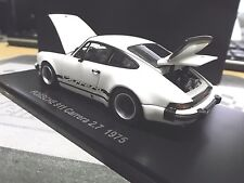 Porsche 911 Carrera 2.7 RS White Blanc 1976 5521w0 Kyosho SP 1:43