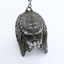 Predators Alien vs. Predator 3D Mask Silver Metal Keyring Keychain  Pendant