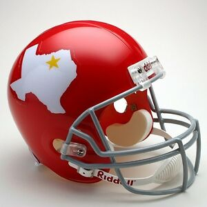 DALLAS TEXANS 1960-1962 NFL Riddell FULL SIZE Replica Football Helmet