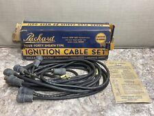 Vintage NOS 1948-1949 Pontiac Packard Ignition Cable Set Spark Plug Wires