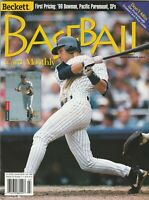 July 1999 Beckett Baseball Magazine  New York Yankees Derek Jeter on the Cover