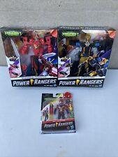 POWER RANGERS Beast Morphers Lot 3 Sets. Beast Racer, Beast Wrecker, Red Ranger