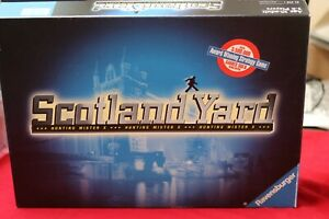 Scotland Yard Detective Game - Hunting for Mister X - Complete