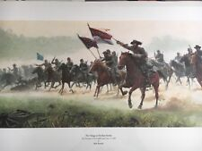 Mort Kunstler Charge at Trevilian Station, Sold Out, Gen Hampton, Citadel Cadets