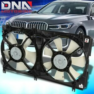 FOR 2004-2012 MITSUBISHI GALANT FACTORY STYLE BOLT-ON RADIATOR COOLING FAN SET
